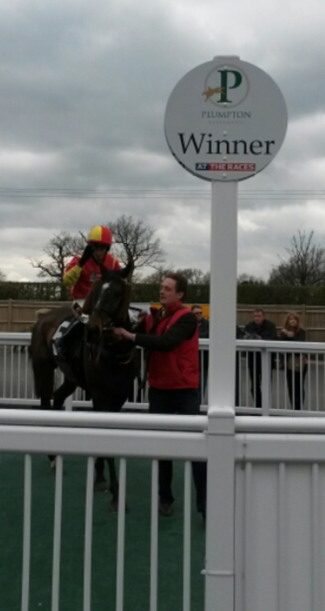 Ben and Tommy at Plumpton 5.4.15